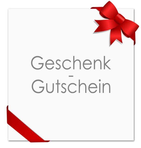 Karte Schleife Geschenkgutscehin