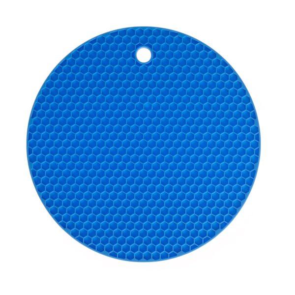 20108 R Waben Untersetzter rund blau